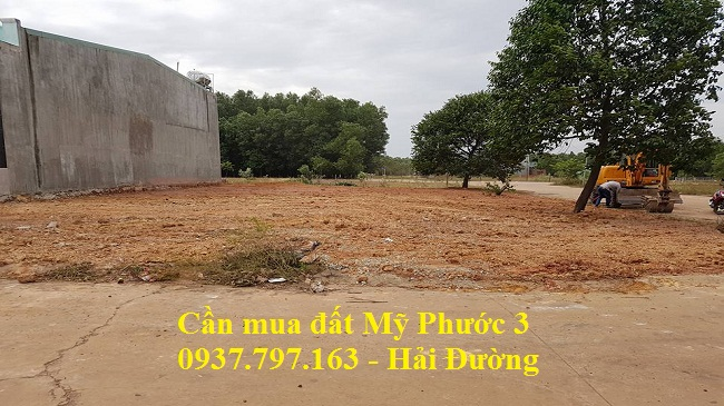 Mua đất lô i66 Mỹ Phước 3