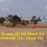 Cần mua gấp lô J21 đất Mỹ Phước 3 trong khu dân cư giá cao