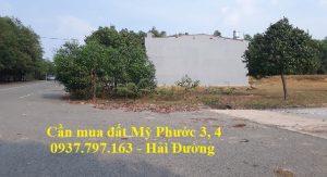 CẦN THU MUA ĐẤT LÔ L43 MỸ PHƯỚC 3 ĐƯỜNG NL17