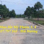 Thu mua lô H1 Mỹ Phước 3 đường DH1 thông dài với giá cao
