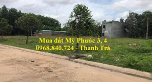 Ký gửi và mua lô 5B41 Mỹ Phước 4 ngay sông Thị Tính ký liền